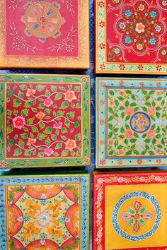 Handcrafted tables from Rajasthan, India
