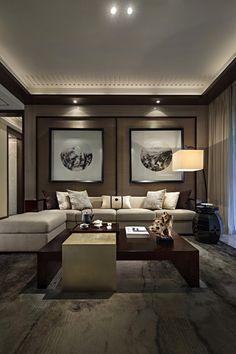 惠州珑湖湾东岸新中式样板房