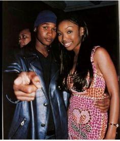 Brandy x Usher Black Girl Swag, Black Love, Black Is Beautiful, Famous Black People, Usher Raymond, Taylor Dayne, Freestyle Music, Judging Amy, Hip Hop And R&b