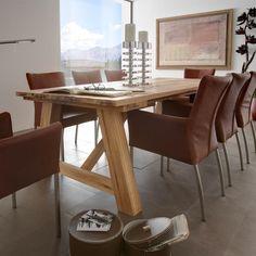 ... Massivholztisch on Pinterest  Eiche, Dining Tables and Esstisch Eiche