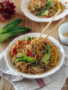 Chow Mein, Chow Chow, Japchae, Eat, Ethnic Recipes, Thailand, Foods, Essen, Food Food