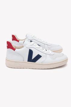 828fd421c43 Veja V10 Sneaker (Nautico Pekin) – Sneakers. Zapatillas De Deporte  NegrasCanastasTalones De ZapatillasZapatos ...