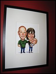 Personal Caricatures are a great gift idea. The caricatures are fully customizable and the subject can be drawn in any setting and clothing desired. We can make your caricatures from photos. All we need is a picture of the face and a setting described by you.