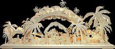 RATAGS 3D-Schwibbogen Morgenland, natur, 72x30cm