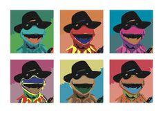 Echa un vistazo a mi proyecto @Behance: \u201cWarhol\u201d https://www.behance.net/gallery/48481983/Warhol
