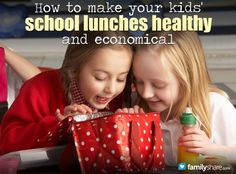 How to make your kid's school lunches healthy and economical - no money saving tips other than home vs school lunch, but recipe for Whole Wheat Choco chip cookies