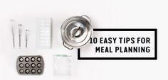 The best way to #SaveTheFood is to plan meals — here are 10 tips: www.savethefood.com/tips/10-easy-tips-for-meal-planning