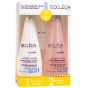 AROMA CLEANSE Essential Face Cleansing Duo This lavish Aroma Cleanse Face Duo by Decleor is designed to give skin a silky soft texture and crystal clear look. You can achieve a refreshed complexion in two simple steps - cleanse and tone with innovative, natural ingredients. K.D.