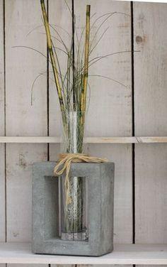 Déco en béton - déco béton, boule en béton, déco en bois et créativité en tissus