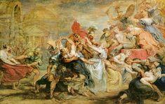 The Rape of the Sabine Women by @artistrubens #baroque