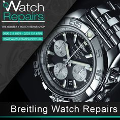 We are Watch-Repair-Shop and we offer Breitling Watch Repair Services in London and across the UK. we are pro experts repairing Breitling watches. For more information please visit https://www.watchrepairshop.co.uk #WatchRepair #Breitling #Watch