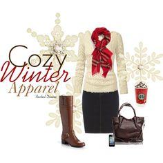 """Cozy Winter Apparel"" by racheldiana on Polyvore"