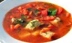 węgierska zupa rybna - halaszle