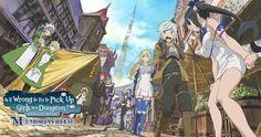 danmachi anime show Danmachi Bell, Danmachi Anime, Wright Flyer, All Anime, Anime Art, Anime Girls, Manga Anime, Familia Myth, Bell Cranel