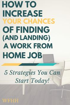 It doesn't have to be an uphill battle to find a work from home job. Here are 5 strategies you can use to increase your chances of finding (and landing) a work from home job.