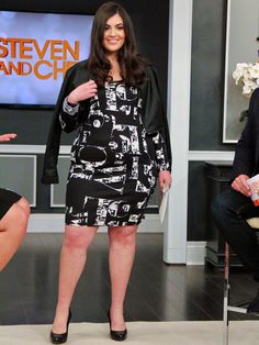 How to Dress Your Curves: Hot Date Night - on Steven and Chris