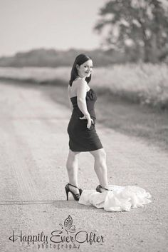 Trash the dress divorce style photo shoot