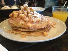Captain Crunch Pancakes With Condensed Milk (Eating House In Coral  Gables)...capu0027n Crunch Pancakes Condensed Milk U0027syrupu0027 Candied Cereal