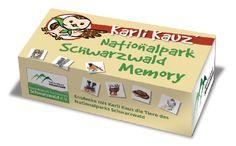 Karli Kauz Nationalpark Schwarzwald Memory jetzt in unserem webshop