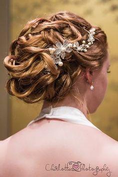 Updo for Wedding or Special Event - Bella Hair by Monica - www.bellahair.com.au #updo #hair #hairstyle #curls #elegant #wedding #bride