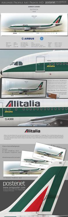 Airbus A300B4 Alitalia Linee Aeree Italiane S.p.A. I-BUSB