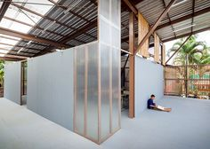 Bangkok-based architect Jun Sekino designed these elevated classrooms in northern Thailand in response to a severe earthquake, which destroyed the school's original building