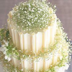 ⋆*❁ #かすみ草 をたっぷり飾った#ウェディングケーキ ぐるっとまわりを囲んだホワイトチョコのフリルも 珍しくって可愛い✨ * ウェディングケーキといえばカラフルなフルーツが 人気ですが、かすみ草オンリーのケーキも ナチュラルでおすすめです * おしゃれで印象的なウェディングケーキ * photo by @tokyokaikan_wedding * #花嫁 #プレ花嫁 #結婚式レポ #結婚準備 #結婚式 #結婚 #結婚式準備 #披露宴 #プロポーズ #婚約 #卒花 #卒花嫁 #marry #marryxoxo #2017冬婚 #2017秋婚 #2018春婚 #2018夏婚 #2018冬婚