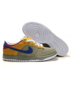 the latest 7db25 dd7bb Nike Dunk SB Shoes Low Men Grey Yellow Nike Dunks, Grey Yellow, Nike Sb