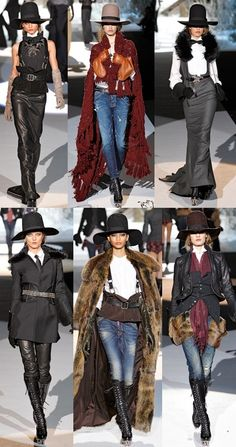 More DSquared 2011. Obsessed with the menswear inspiration, as well as the almost 'Wild West' feel.