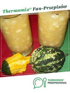 Jabłka prażone z Thermomixa jest to przepis stworzony przez użytkownika smoczek. Ten przepis na Thermomix<sup>®</sup> znajdziesz w kategorii Dodatki na www.przepisownia.pl, społeczności Thermomix<sup>®</sup>. Pickles, Cantaloupe, Cucumber, Food And Drink, Fruit, Thermomix, Pickle, Zucchini, Pickling