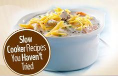 Let your #slowcooker cook all day while you're away! #Dinner has never been so easy. | via @SparkPeople #recipes #crockpot