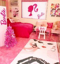 #barbie #barbieroom #azusabarbie #barbiegirl #barbiedreamhouse #pinkcarpet #barbiecarpet