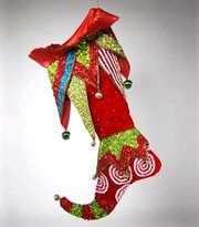 @Shelia Moore... kc1436212recufst: Katherine's Collection Red Cuff Beaded Stocking 2012 Christmas