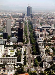 Paseo de la Castellana (Estadio Santiago Bernabéu).