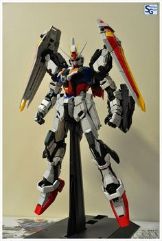 "Custom Build: PG 1/60 Strike Gundam ""Ver. Double Shadow Striker"" - Gundam Kits Collection News and Reviews"