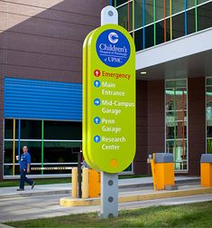 Children's Hospital of Pittsburgh wayfinding