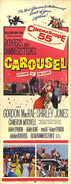 Carousel- I played Louise in fall 2002 at Culver-Stockton college