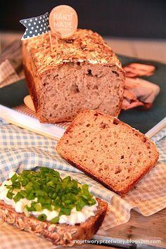 MojeTworyPrzetwory: Chleb żytni codzienny