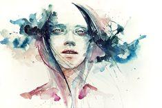 Silvia Pelissero's Watercolor Illustration: agnes-cecile_2_20120430_1620857783.jpeg