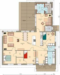 Florida House Plans, Florida Home, Retro Home, My Dream Home, My House, Sweet Home, Floor Plans, House Design, Flooring