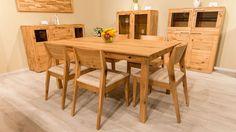 modern-tömörfa-étkező-asztal-szék Dining Table, Furniture, Home Decor, Decoration Home, Room Decor, Dinner Table, Home Furnishings, Dining Room Table, Home Interior Design
