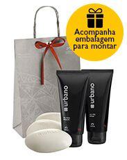 http://rede.natura.net/espaco/RoseliSantos Presente Natura #Urbano Barba - Gel para Barbear + Gel pós Barba + Sabonete em Barra + Embalagem Desmontada R$47,8