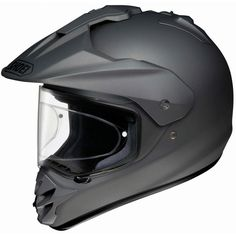Shoei Hornet DS Deep Grey X-Small Full Face Adventure Motorcycle Helmet Black Motorcycle Helmet, Motorcycle Riding Gear, Dual Sport Helmet, Shoei Helmets, Honda Powersports, Kids Helmets, Matte Black, Me Too Shoes, Cl Shoes