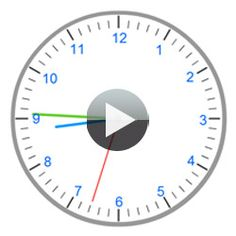An interactive clock to learn telling time: une horloge interactive pour… French Teacher, Teaching French, French Resources, Math Resources, Teaching Activities, Teaching Math, Flick Flack, Animation Flash, Core French