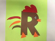 R is for rooster