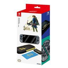 Starter Kit Zelda pour Nintendo Switch: Nintendo Switch – Zelda Starter Pack Inclus: Protecteur Filtre Sacoche Boitier de rangement de jeu…