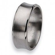 This Chisel Titanium Ring comes complete with a Lifetime Warranty. The warranty applies should you ever need a new size only of the same style. A deductible of 30% of original purchase price plus ship...