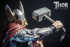 #thor #kotobukiya #Shinya Akao #action #marvel #soldier #patriot #god #hammer #strong
