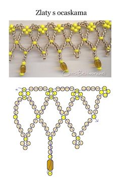 Beaded jewellry – Some simple beaded patterns   Beaded jewelry