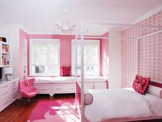 Follow top designers' tips and tricks for selecting the perfect color palette for your kid's room on HGTV.com.